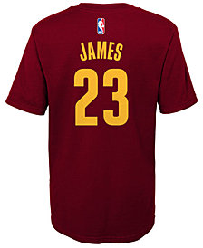 Nike Lebron James Cleveland Cavaliers Replica Name & Number T-Shirt, Little Boys (4-7)