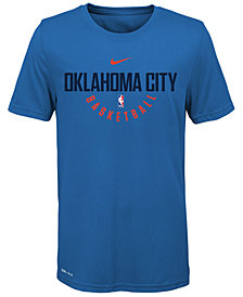 Nike Oklahoma City Thunder Elite Practice T-Shirt, Big Boys (8-20)