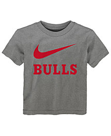 Nike Chicago Bulls Swoosh Team T-Shirt, Toddler Boys (2T-4T)