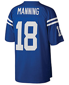 Mitchell & Ness Men's Peyton Manning Indianapolis Colts Replica Throwback Jersey