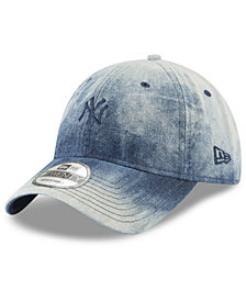 New Era New York Yankees Denim Wash Out 9TWENTY Cap