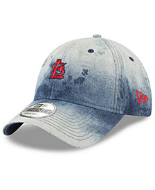 New Era St. Louis Cardinals Denim Wash Out 9TWENTY Cap