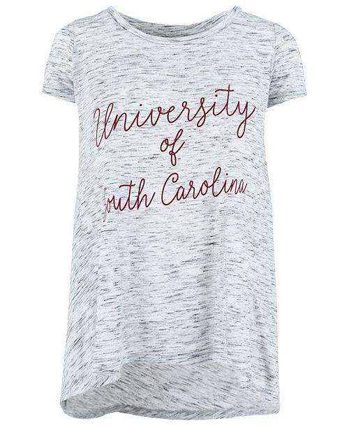Royce Apparel Inc Women s South Carolina Gamecocks Script Viscose Crew  T-Shirt cf0266a02