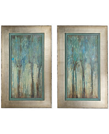 Uttermost Whispering Wind Wall Art, Set of 2