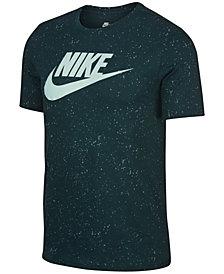 Nike Men's Sportswear Printed Logo T-Shirt