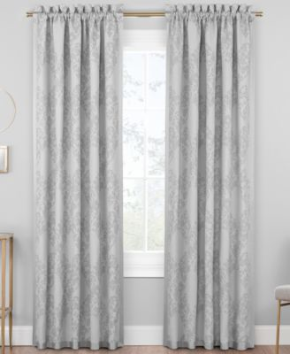 "Trellis 50"" x 84"" Rod Pocket Window Panel"