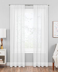 Hudson Hill Voile Rod Pocket Window Panels