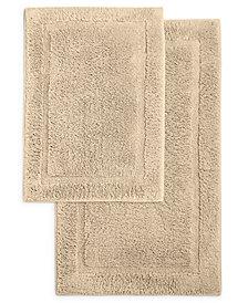 Martha Stewart Essentials Cotton 2-Pc. Bath Rug Set, Created for Macy's