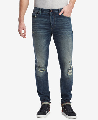 Tommy Hilfiger Men's Slim-Fit Engine Denim Jeans, Created for Macy's