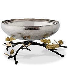 Michael Aram Butterfly Ginkgo Medium Footed Centerpiece Bowl