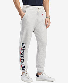 Tommy Hilfiger Denim Men's Graphic-Print Jogger Pants