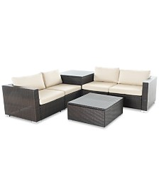 Malibu Outdoor 6-Pc. Sofa Set, Quick Ship