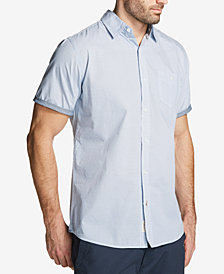 Weatherproof Vintage Men's Printed Poplin Pocket Shirt