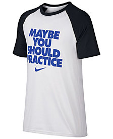 Nike Practice-Print T-Shirt, Big Boys