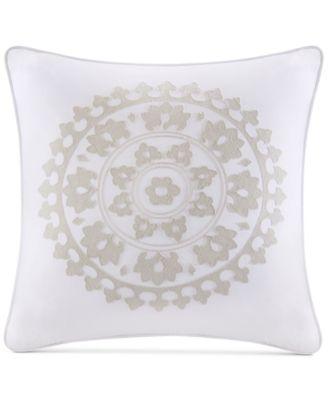 Marco Embroidered Cotton European Sham