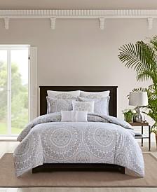 Echo Marco Cotton 3-Pc. Full/Queen Comforter Set