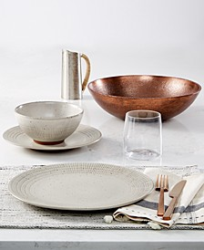 Rustic Weave Dinnerware Collection, Created for Macy's