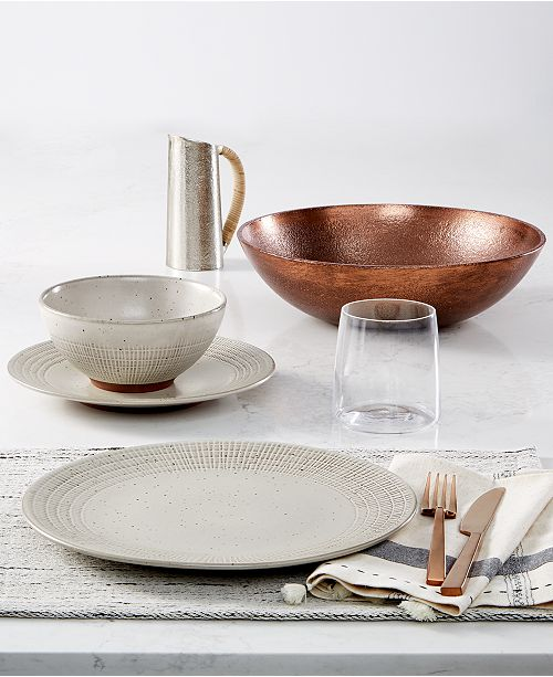 Lucky Brand Rustic Weave Dinnerware Collection, Created for Macy's