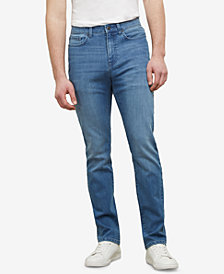 Kenneth Cole Men's Slim-Fit Light-Wash Denim Jeans