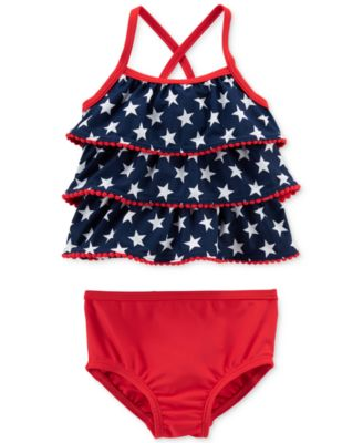 2-Pc. Tankini Swim Suit, Baby Girls