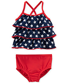 Carter's 2-Pc. Tankini Swim Suit, Baby Girls
