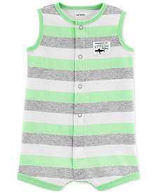 Carter's Baby Boys Striped Romper