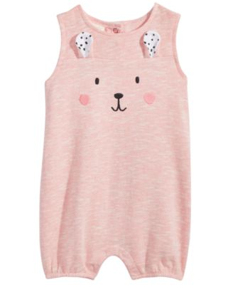 Bunny Romper, Baby Girls, Created for Macy's