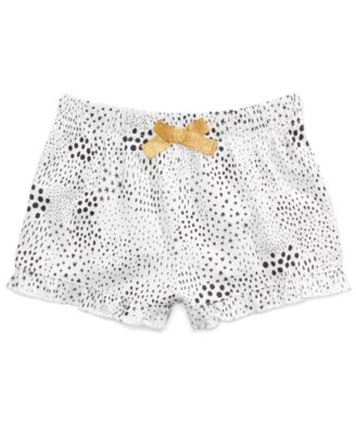 Baby Girls Printed Cotton Shorts, Created for Macy's