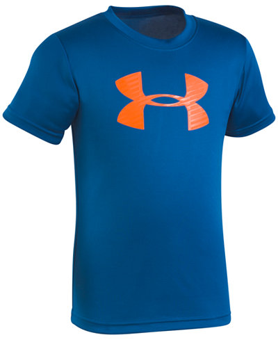 Under Armour Logo-Print T-Shirt, Little Boys
