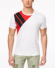 I.N.C. Men's Pieced Park T-Shirt, Created for Macy's