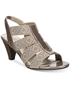 Karen Scott Nicolle Slingback Sandals, Created for Macy's