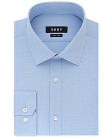 Men's Slim-Fit Stretch Mini Check Dress Shirt, Created for Macy's