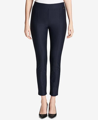 Calvin Klein Pull-On Skinny Pants