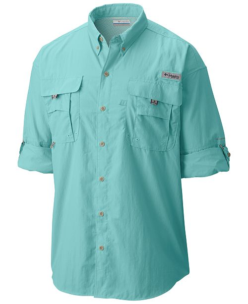 1f0a2e04188 Columbia Men s PFG Bahama™ II Long Sleeve Shirt   Reviews - Casual ...