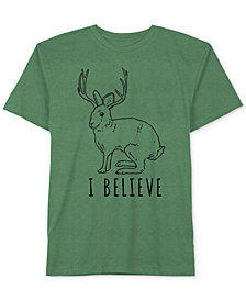 I Believe Men's T-Shirt by Hybrid Apparel