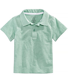 First Impressions Cotton Polo, Baby Boys, Created for Macy's