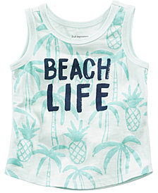 First Impressions Beach Life-Print Cotton Tank Top, Baby Boys, Created for Macy's