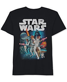 Hybrid Men's Big & Tall Star Wars T-Shirt