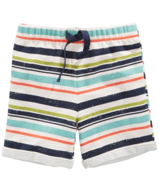 Striped Shorts, Baby Boys, Created for Macy's