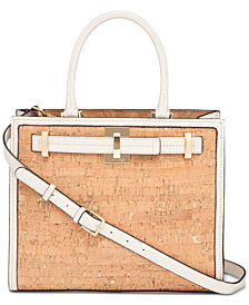 Calvin Klein Small Cork Satchel