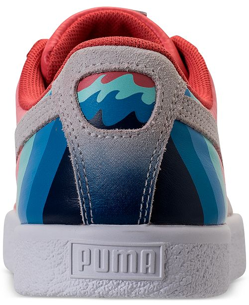 new arrival 21eb9 55cce Puma x Pink Dolphin Men's Clyde Casual Sneakers from Finish ...