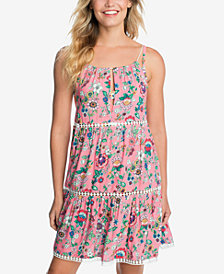Vera Bradley Printed Cover-Up Dress