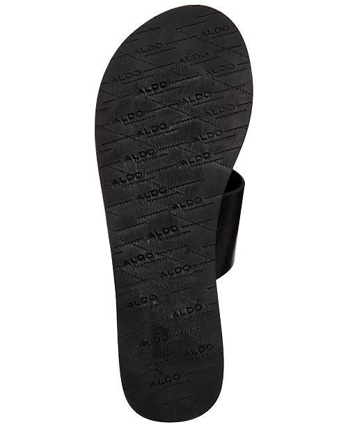 367f8cb4734 ALDO Yilania Coin Slide Sandals   Reviews - Sandals   Flip Flops ...