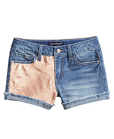 Imperial Star Reversible Sequin Shorts, Big Girls