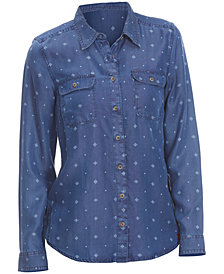 EMS® Women's Chambray Printed Shirt
