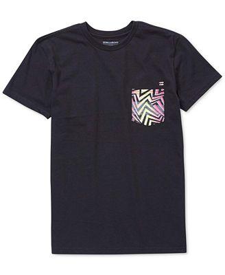 Billabong Pocket Cotton T-Shirt, Toddler Boys