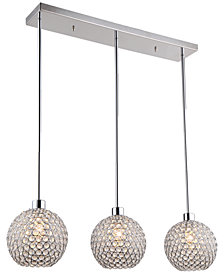 Zeev Lighting Kent 3 Light Mini Pendant