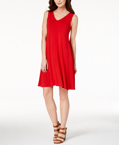 Style & Co Cross-Back Dress, Created for Macy's