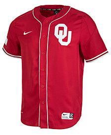 Nike Men's Oklahoma Sooners Replica Baseball Jersey