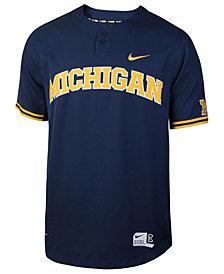 Nike Men's Michigan Wolverines Replica Baseball Jersey